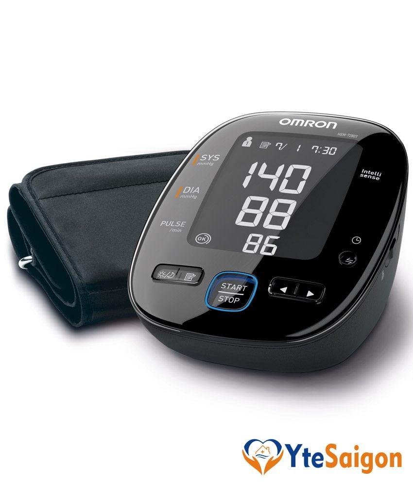 Máy đo huyết áp bắp tay Omron HEM-7280T