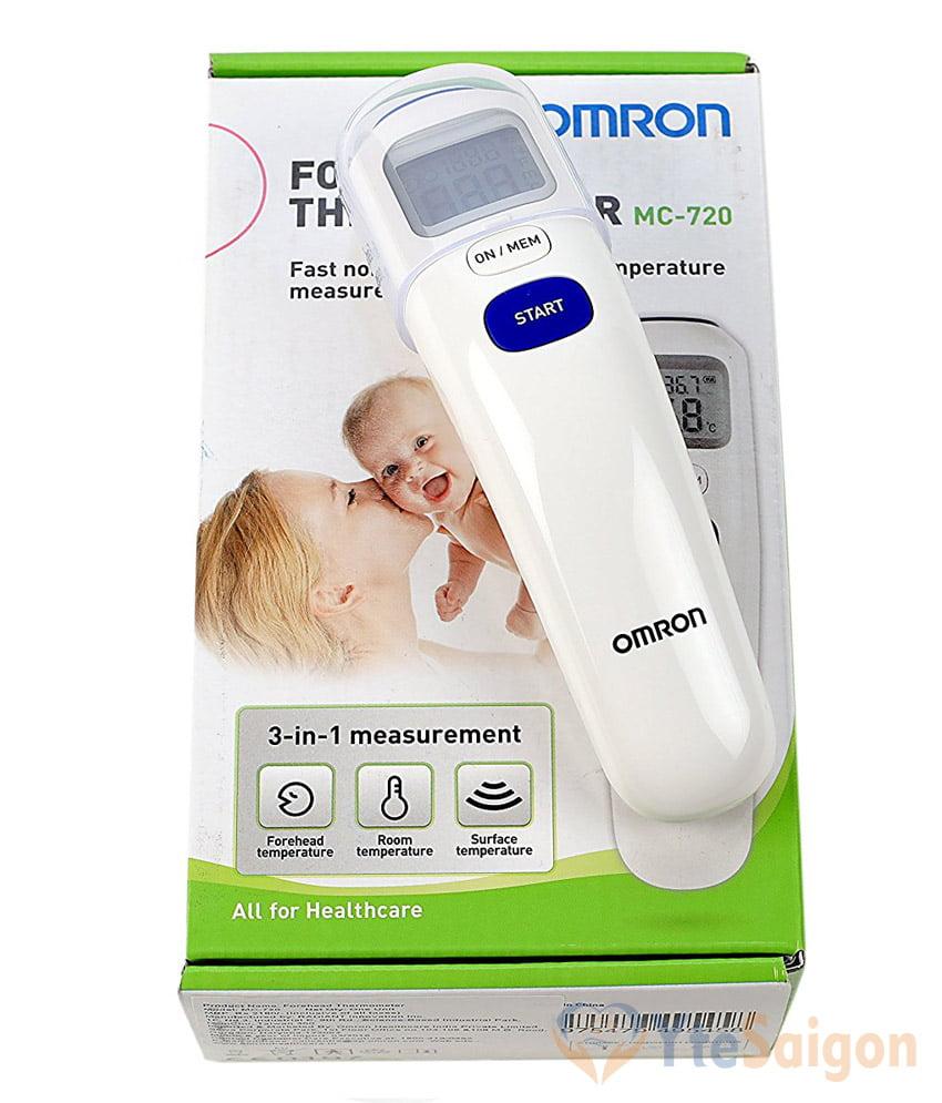 Nhiệt kế điện tử Omron MC-720