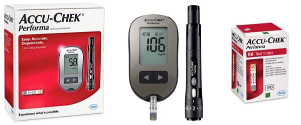 Máy đo đường huyết Performa