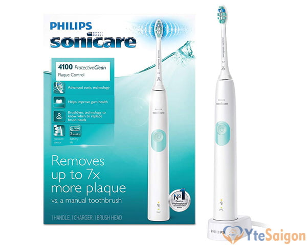 Bàn chải điện Philips Sonicare ProtectiveClean 4100 HX6817