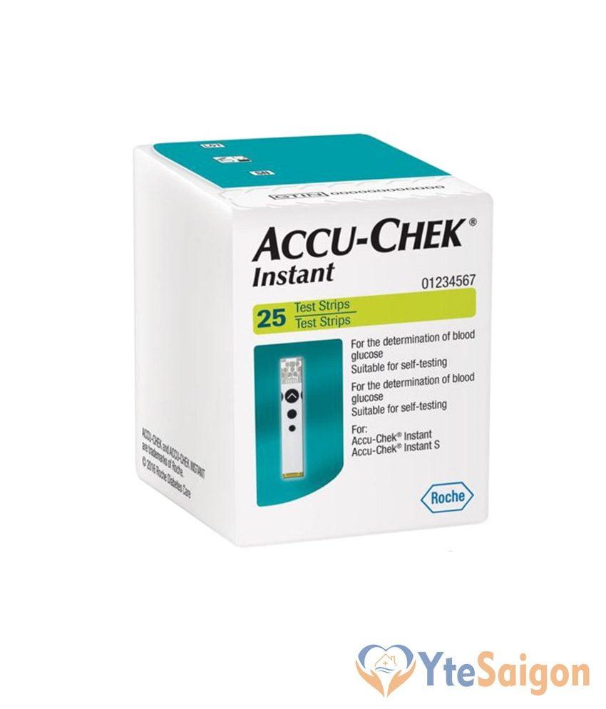 Que đo đường huyết Accu-Chek Instant