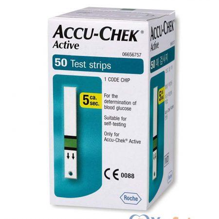 Que đo đường huyết Accu-Chek Active 50