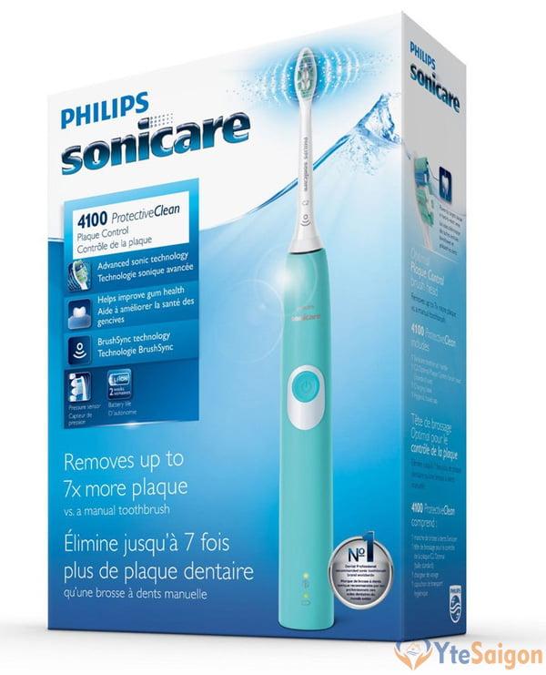Bàn chải điện Philips Sonicare 4100 HX6812