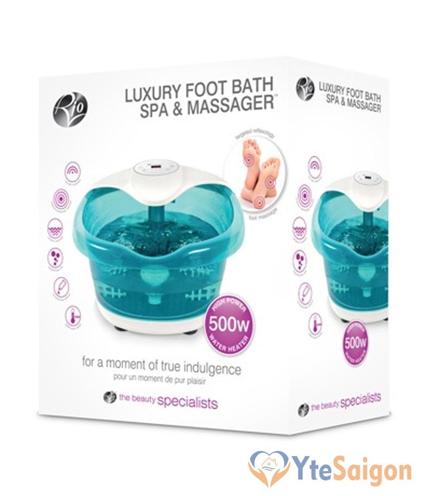 Bồn ngâm chân massage đa năng cao cấp Rio FTBH5