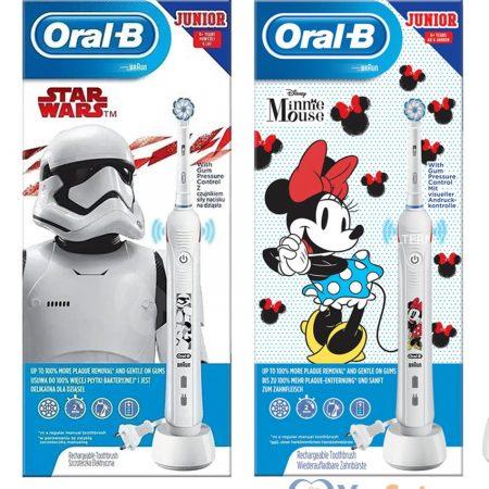 Bàn chải đánh răng điện Oral B Junior 01